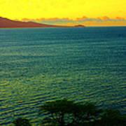 Emerald Sea Art Print