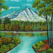 Emerald Valley Art Print