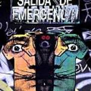 Emergency Dali Art Print