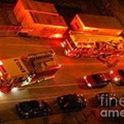 Emergency Response Art Print