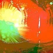 Emergent Sun Art Print
