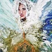 Emerging Angel Of Light Art Print