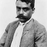 Emiliano Zapata (1879-1919) Art Print