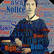 Emily Dickinson Art Print