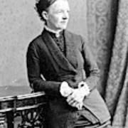 Emma Wedgwood Darwin (1808-1896) Art Print