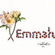 Emmah In Ladybugs Art Print