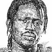 Emmanuel Jal Art Print