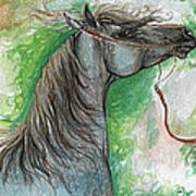 Emon Polish Arabian Horse 1 Art Print