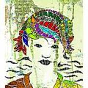 Emote Art Print
