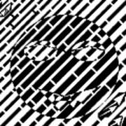 Emoticon So Very Funny Maze  Art Print