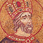 Emperor Constantine I Art Print