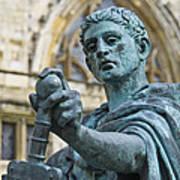 Emperor Constantine Art Print