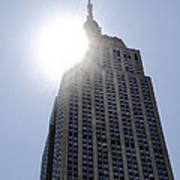 Empire State At Hign Noon Art Print