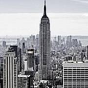 Empire State Art Print by CD Kirven