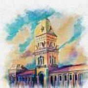 Empress Market Karachi Art Print by Catf
