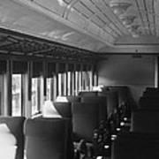 Empty Railway Coach Art Print