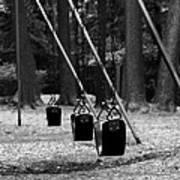Empty Swings Art Print