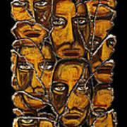 Empyreal Souls No. 5 Print by Steve Bogdanoff