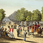Encampment Of The British Army Art Print