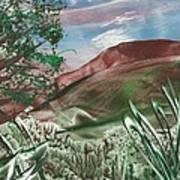 Encaustic 11a Art Print