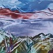 Encaustic Art 2 Art Print by Debra Piro