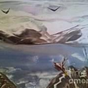Encaustic Art Art Print by Debra Piro