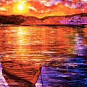 Enchanted Evening Art Print