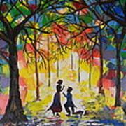 Enchanted Proposal Art Print