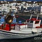 Enchanted Spaces Mykonos Greece 1 Art Print
