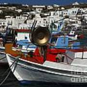 Enchanted Spaces Mykonos Greece 2 Art Print