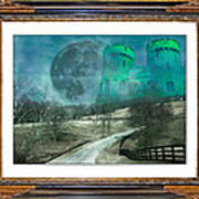 Enchanting Evening With Oz Art Print