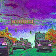 Encinitas California 5d24221m68 Art Print by Wingsdomain Art and Photography