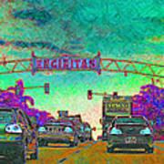 Encinitas California 5d24221p180 Print by Wingsdomain Art and Photography