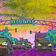 Encinitas California 5d24221p68 Art Print by Wingsdomain Art and Photography