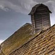 End Of An Era Roof Detail Art Print