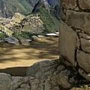 End Of Inca Trail Art Print