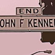 End Of John F Kennedy Street In San Francisco Art Print
