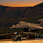 End Of The Day Departure Art Print