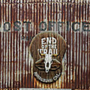 End Of The Trail Art Print