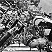 Enfield Motorcycles Art Print