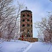 Enger Tower In Winter Art Print