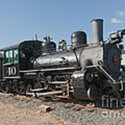 Engine 40 In The Colorado Railroad Museum Art Print
