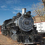 Engine 491 In The Colorado Railroad Museum Art Print