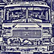 Engine 5 Art Print