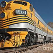 Engine 5771 In The Colorado Railroad Museum Art Print