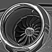 Engine Citation Cj2 Art Print
