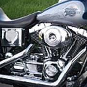Engine Close-up 5 Art Print