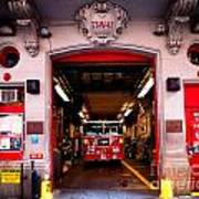 Engine Company 65 Firehouse Midtown Manhattan Print by Amy Cicconi