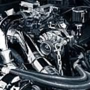 Engine Details Art Print
