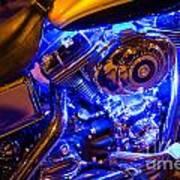 Engine Shimmer Art Print